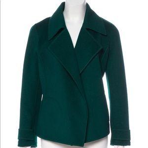 St. John Angora/Wool Open Blazer. Size 6.